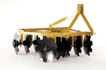Compact Angle Iron Disc Harrow